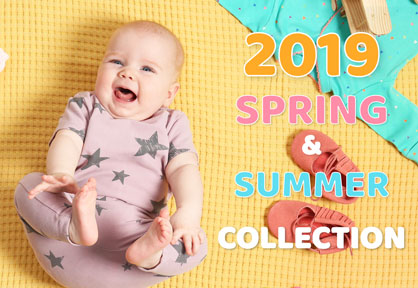 Spring & Summer 2019 Baby Clothes Collection