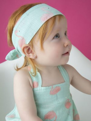 Flaming Baby Headband Accessory
