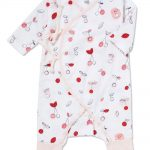 Cherry O - Wrap Coverall - Same Baby Clothing Collection