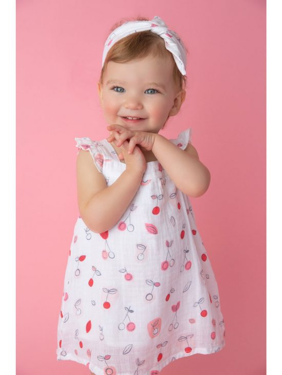 Cherry O Summer Dress with Dipper Cover Alternate