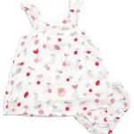 Cherry O - Sundress w/ Diaper Cover - Same Baby Clothing Collection