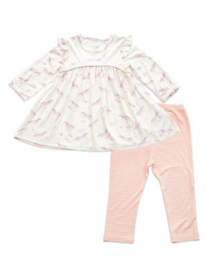 Cosmic Unicorn Dress and Legging - Angel Dear Baby Clothes
