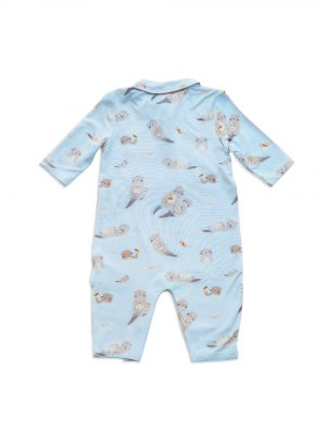 Otter Polo Romper Back - Angel Dear