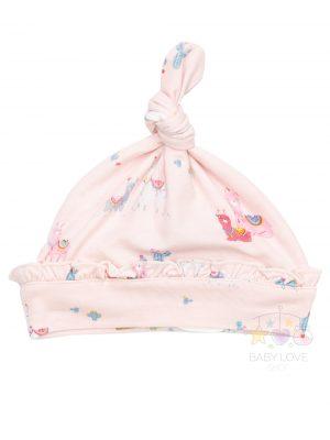 Llama knotted Beanie Pink - Angel Dear