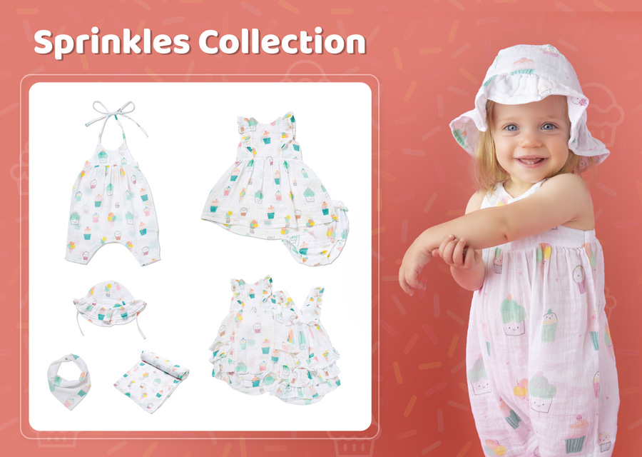 Sprinkles and Cupcakes Baby Clothes