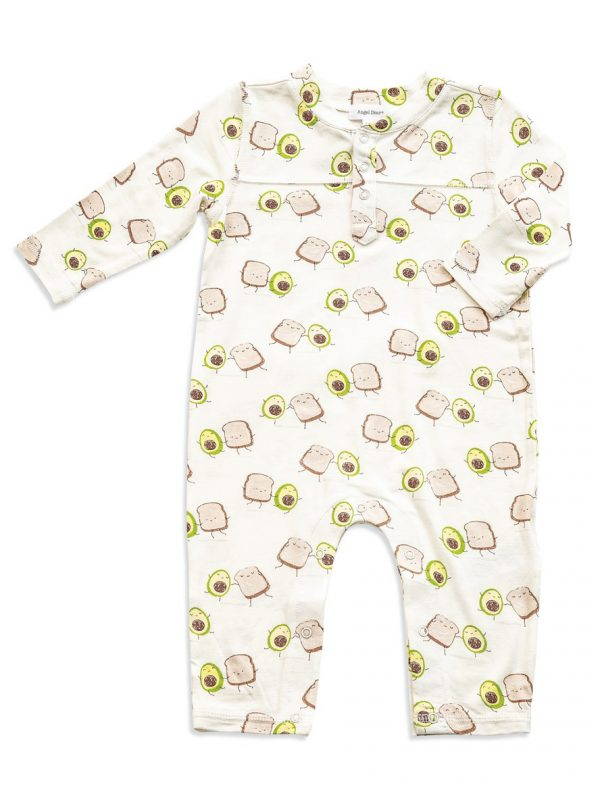 Baby Avocado Toast Romper - Cute baby outfit
